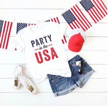 Party in the USA Unisex Jersey Tee