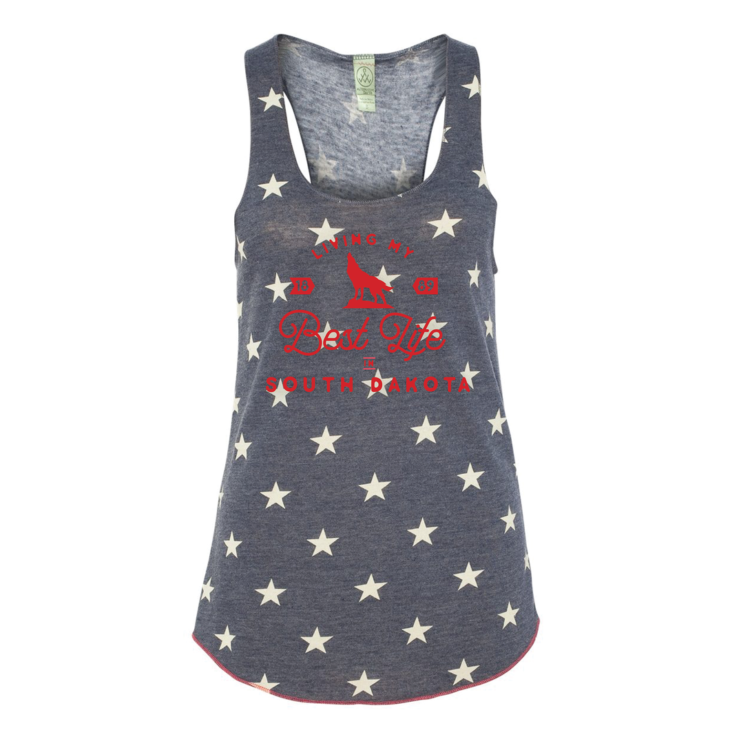 Best Life in South Dakota – 4th of July Tank {PREORDER}
