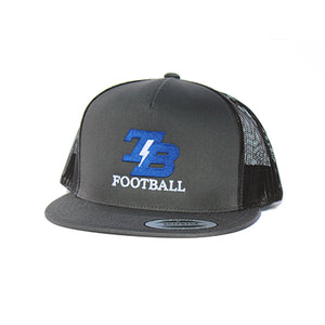 Thunder Basin Bolts Football – Charcoal/Black