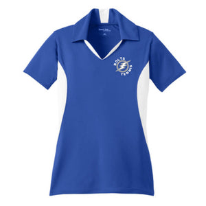 Thunder Basin Bolts Tennis Sport-Tek® Colorblock Ladies Polo