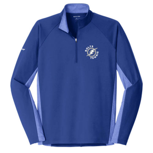 Thunder Basin Bolts Tennis 1/2 Zip Adult Pullover
