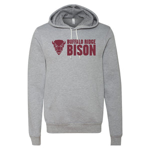 Buffalo Ridge Bison - Bella+Canvas  Hooded Sweatshirt