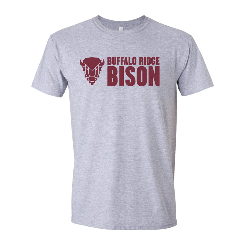 Aztec Buffalo Ridge Bison - Adult T-Shirt
