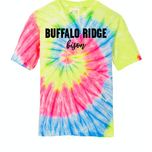 Local Elementary School Neon Tie Dye Youth Shirt