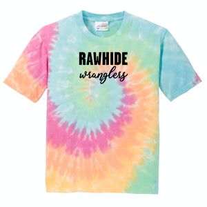 Local Elementary School Pastel Tie Dye Youth Shirt