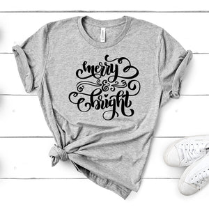 Merry & Bright – Christmas Tee