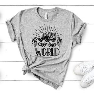 Joy to the World – Christmas Tee
