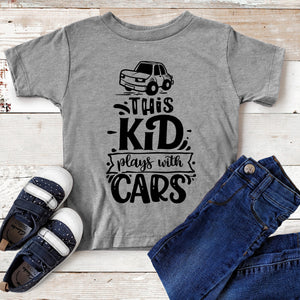 This Kid Plays with Cards Toddler T-shirt