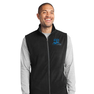 Gillette College 50 Years Mens Fleece Vest