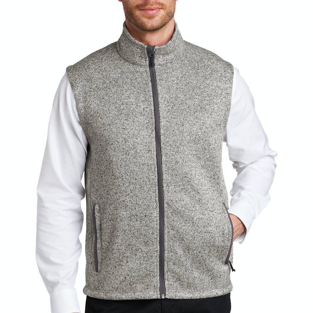 {NEW 2020} Port Authority ® Sweater Fleece Vest – First National Bank