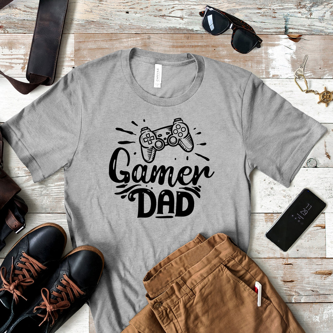 Gamer Dad - Dad Life T-shirt