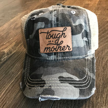Tough as a Mother - Camo Ponytail CC Ball Cap Hat