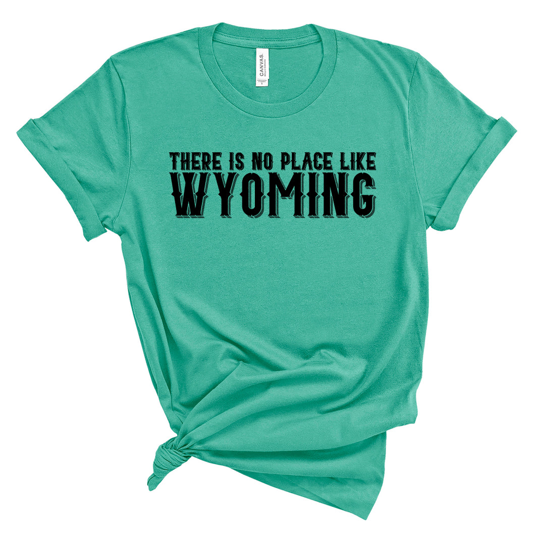 There is No Place Like Wyoming Teal