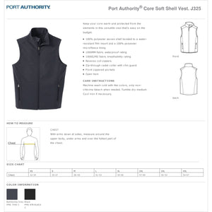 Core Soft Shell Vest - First National Bank