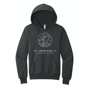St. John Paul II Catholic School BELLA+CANVAS ® Youth Sponge Fleece Pullover Hoodie