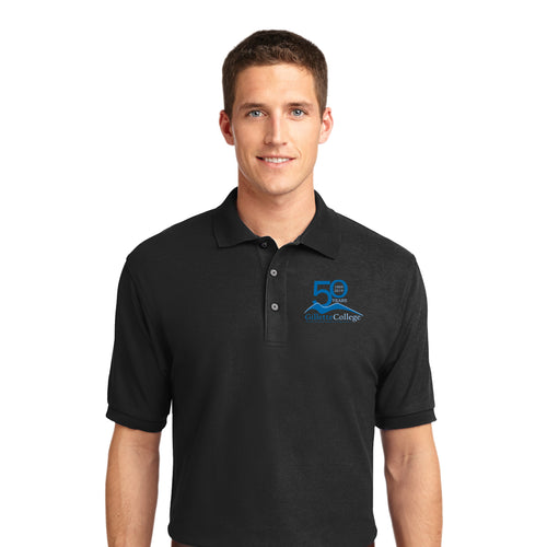 Gillette College 50 Years Mens Polo