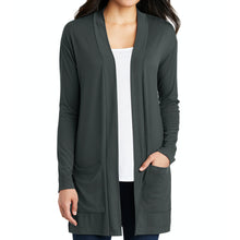 {NEW 2020} Port Authority ® Ladies Concept Long Pocket Cardigan – First National Bank