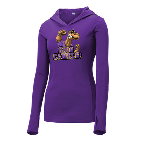 Gooo Camels! Sport-Tek ® Ladies PosiCharge ® Competitor ™ Hooded Pullover