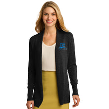 Gillette College 50 Years Ladies Open Front Cardigan Sweater