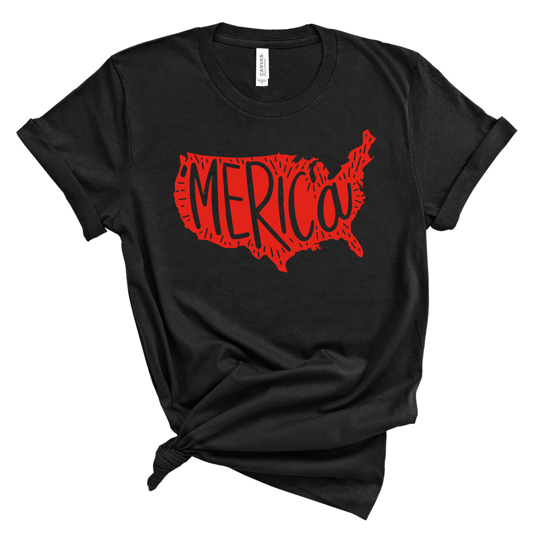 Merica Graphic T-Shirt