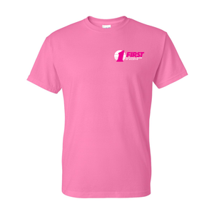 First National Bank Paint Gillette Pink Tee