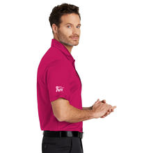 First National Bank Paint Gillette Pink - Port Authority® Silk Touch™ Performance Polo