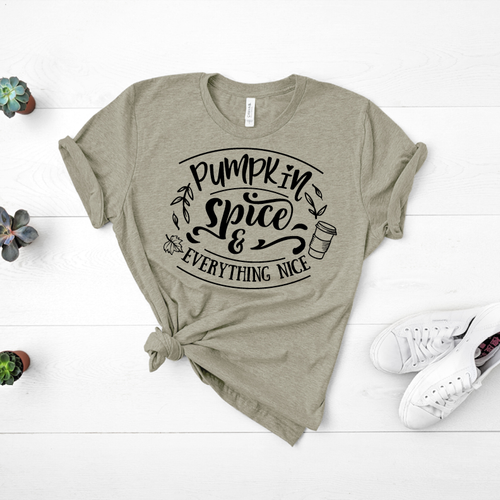 Pumpkin Spice & Everything Nice - Tee