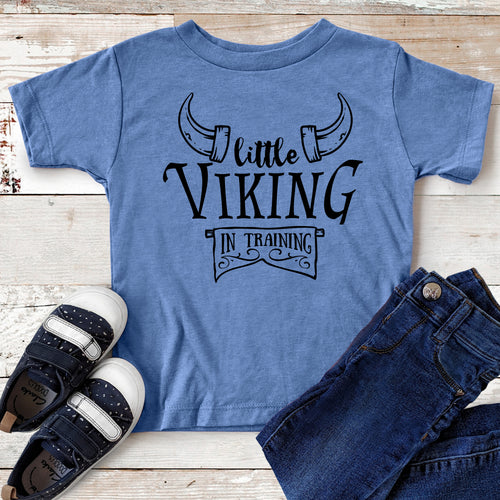Little Viking in Training – Daddy & Me T-shirt