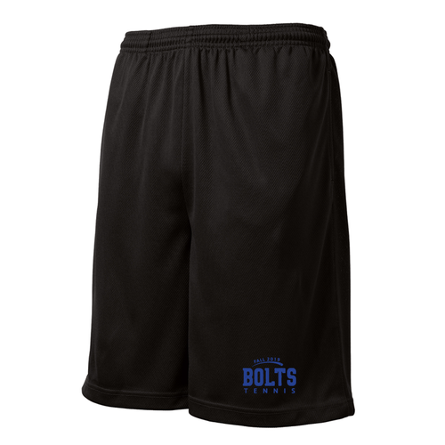 Thunder Basin Bolts Tennis Mesh Shorts with Pockets