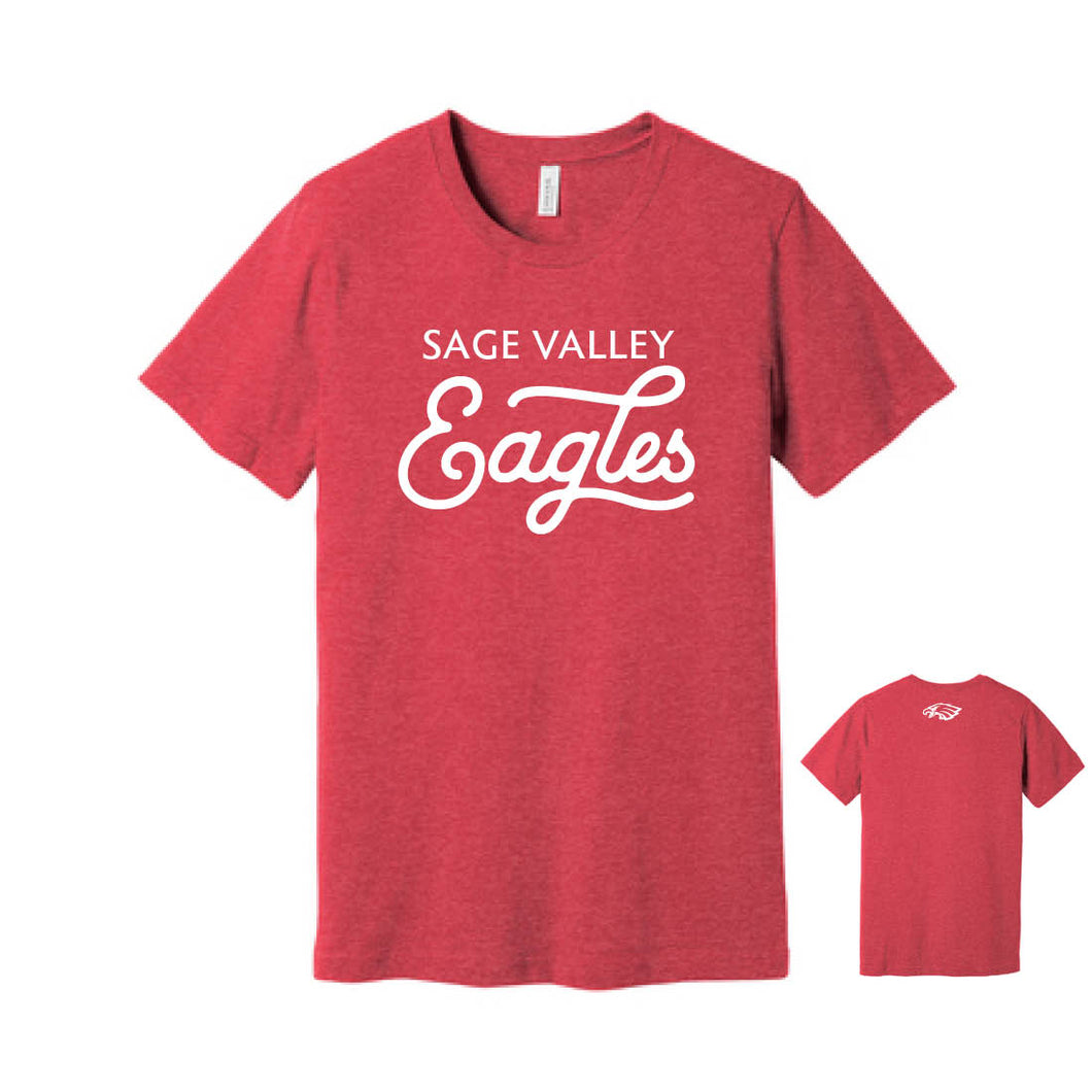 Sage Valley Eagles Red Tee