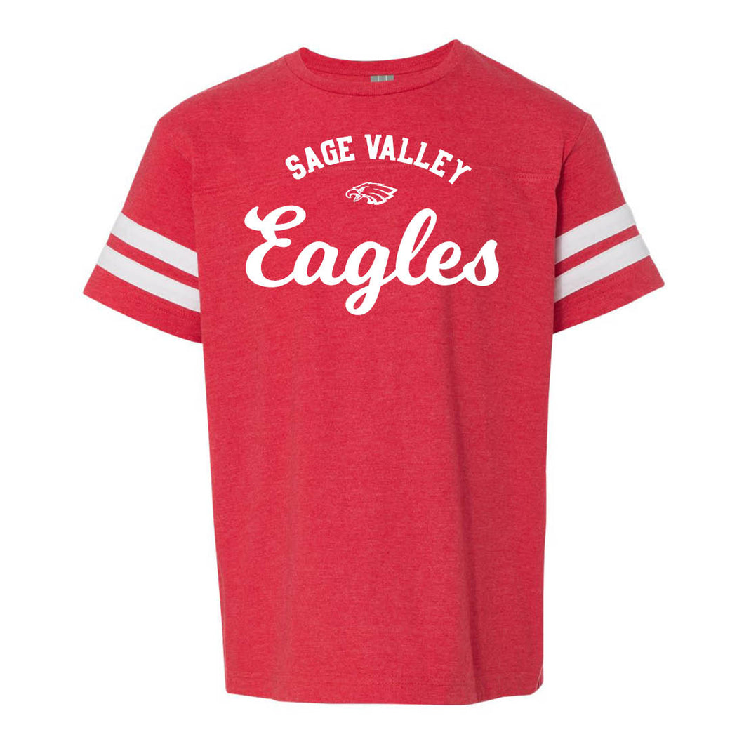 Sage Valley Eagles – Youth Jersey Tee