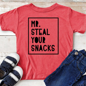 Mr Steal Your Snacks - Toddler T-shirt