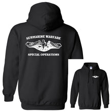 Submarine Warfare Special Operations Black Heavy Blend Hooded Sweatshirt