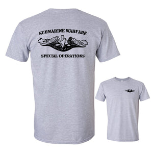 Submarine Warfare Special Operations Sport Grey Softstyle T-Shirt