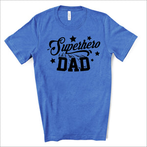 Superhero Dad - Dad Life T-shirt