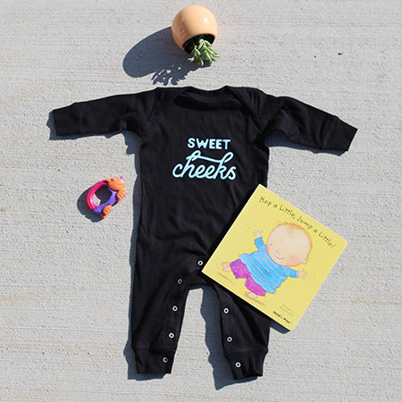 Sweet Cheeks – Long Sleeved Baby Romper