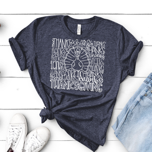 Thanksgiving Typography - Tee