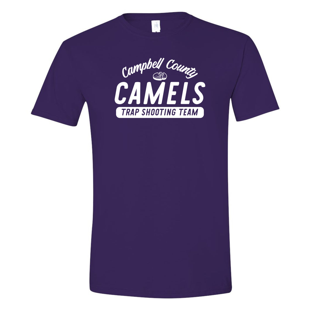 Campbell County High School Trap Shooting Team Purple Softstyle T-Shirt