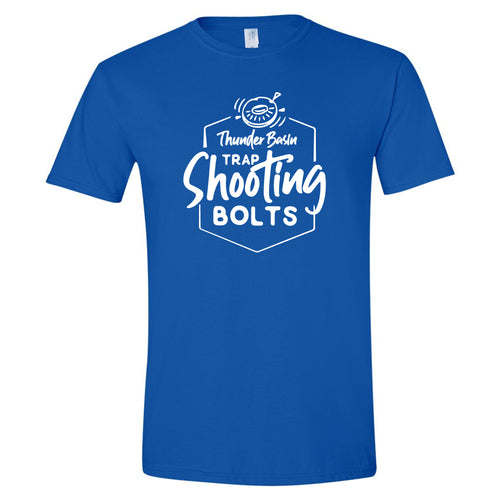 Thunder Basin High School Trap Shooting Team Royal Softstyle T-Shirt