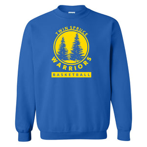 Twin Spruce Warriors Boys Basketball - Gildan - Heavy Blend™ Sweatshirt