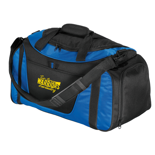 Twin Spruce Warriors Cheerleading - Port Authority® - Small Two-Tone Duffel
