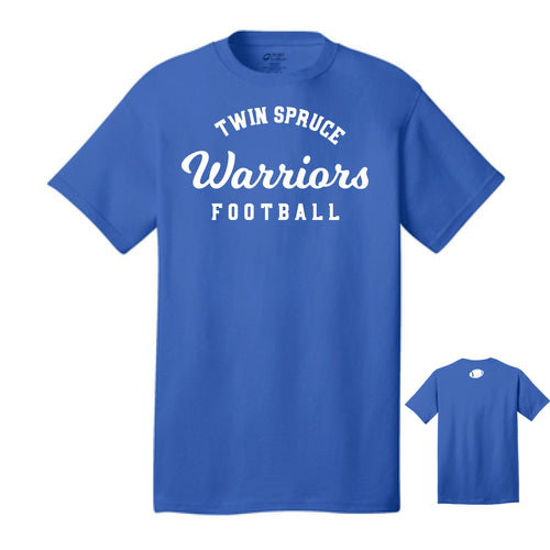 Twin Spruce Junior High School Warriors – Royal Cotton Tee
