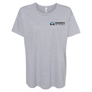 Mammoth Network - Women's Ideal Flow Black Tee