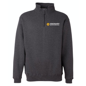 Visionary Broadband - Heavyweight Fleece Quarter-Zip Sweatshirt