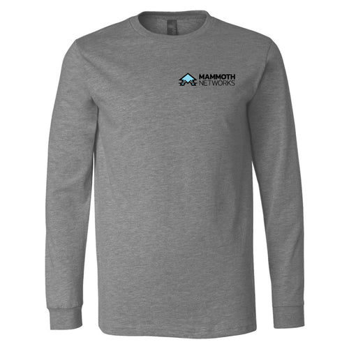 Mammoth Networks -BELLA + CANVAS - Unisex Jersey Long Sleeve Tee