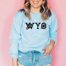WYO Light Baby Blue Crewneck Sweatshirt