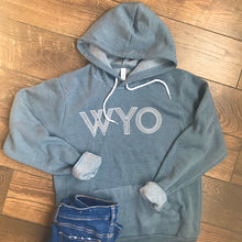 WYO Hooded Sweatshirt in Slate Blue