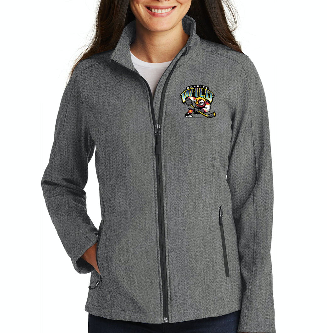Gillette Wild Hockey Ladies Soft Shell Jacket