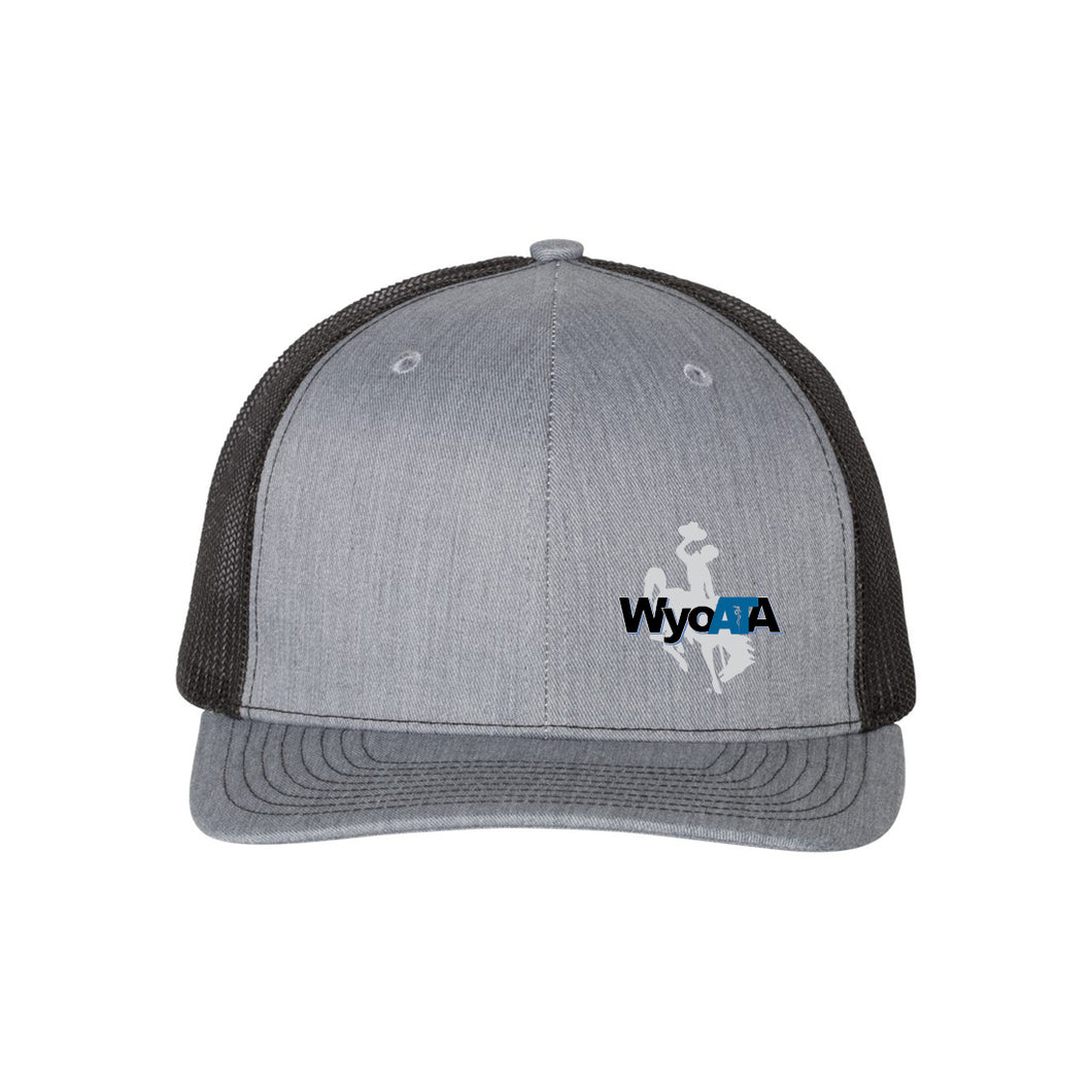 WYOATA – Richardson 112 Heather Grey Snapback Hat