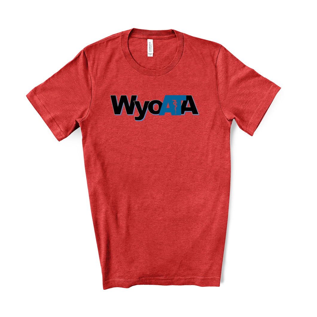 WYOATA – Heather RED T-shirt